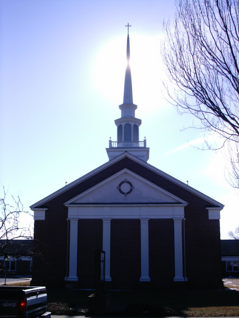church and steeple
